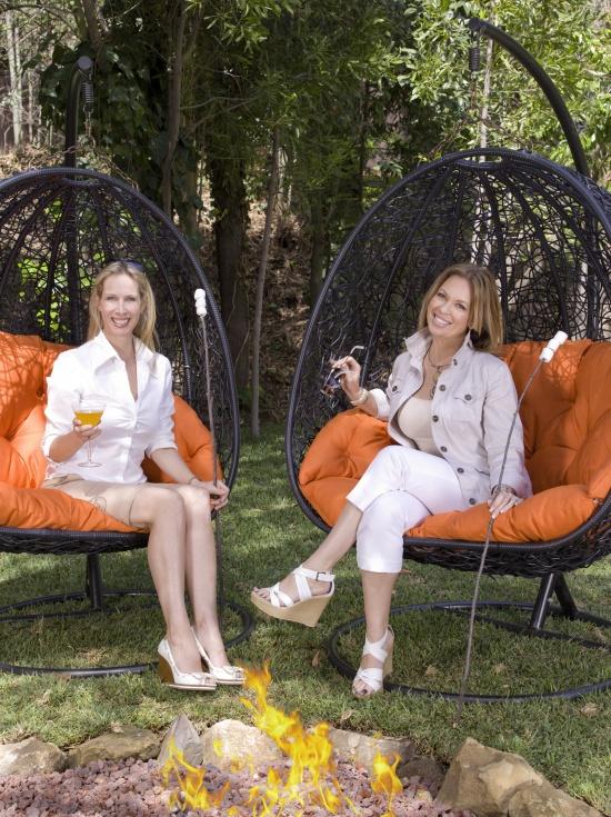 Celebrity Interior Designers Lori Dennis and Kelli Ellis for DesignCamp.com an interior design educational summit