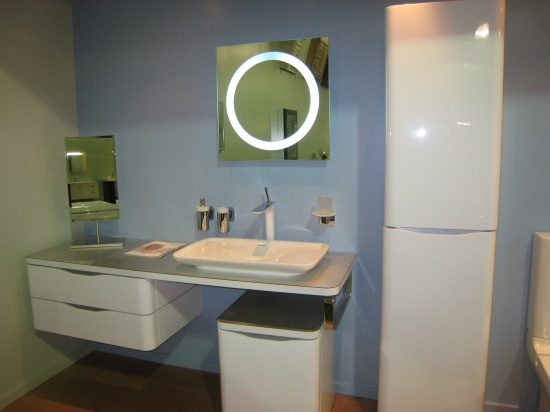 Lori dennis for Latest bathroom design trends