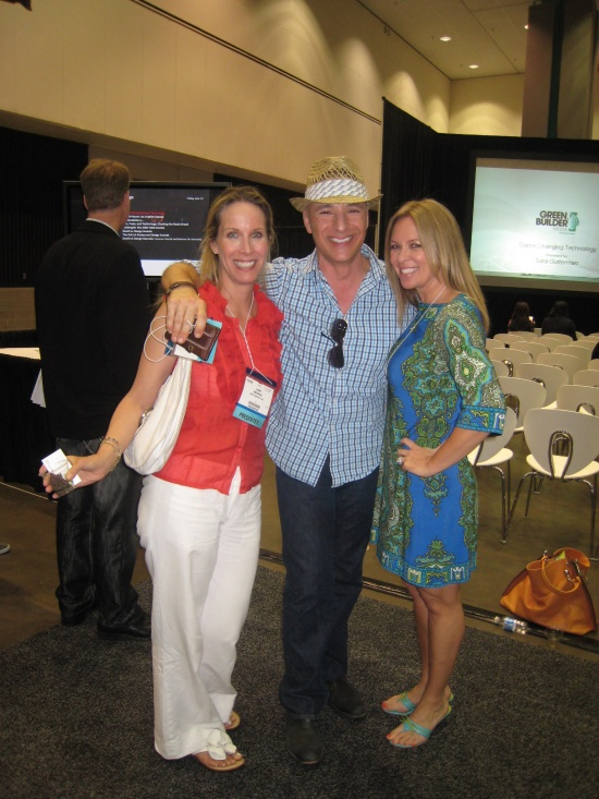Celebrity Interior Designers Lori Dennis, Angelo Surmelis and Kelli Ellis at Dwell on Design