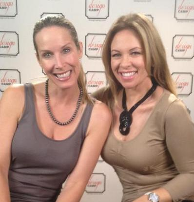 Celebrity Interior Designers Lori Dennis and Kelli Ellis