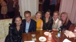 Margaret Russell, Nathan Turner, Tammy Conner, Ronda Carman, Lori Dennis, Kelli Ellis at Print Works Bistro High Point