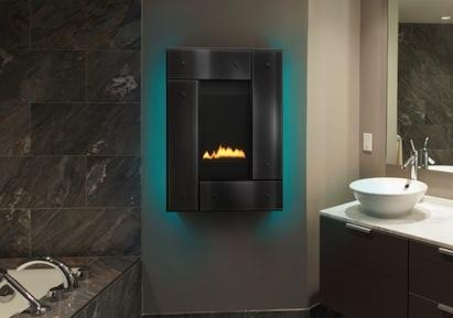 Good Electric Fireplace Bathroom. A Blog About Luxury And Green Living By Top  Interior