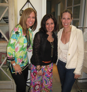 Design Camp Counselors Kelli Ellis, Pam Jaccarino EIC @luxemag and Lori Dennis