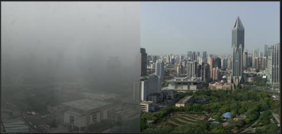 Smog Images from China: Why Green Interior Design Matters