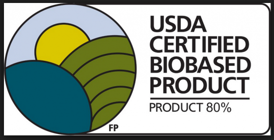 USDA Certified Biobased Products Logo