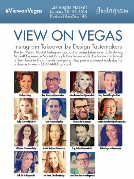 Las Vegas World Market 2014: Interior Design Tastemakers
