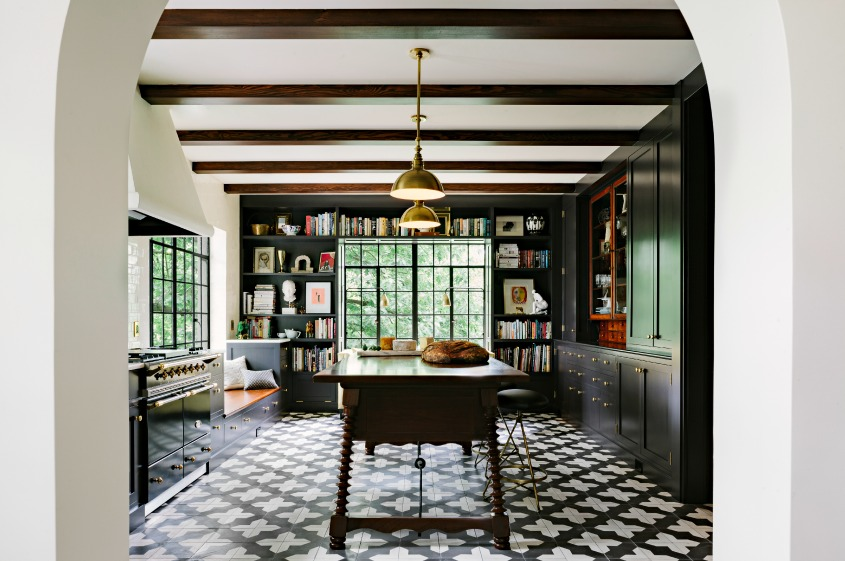 Great Badajoz Cement Tile Jolts A Kitchen From Granada Tile 1