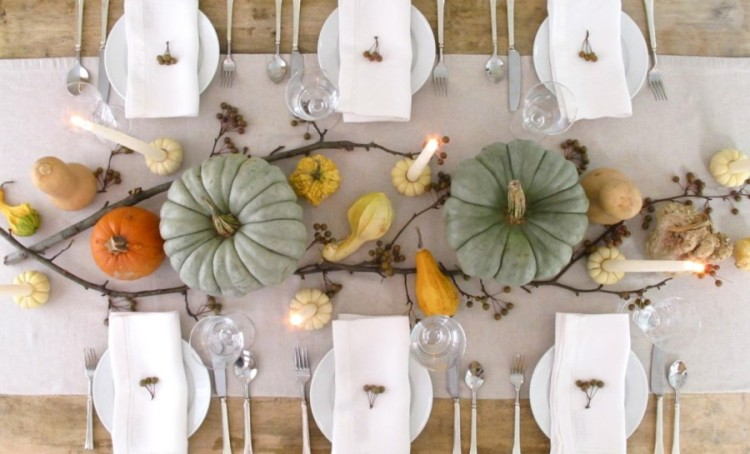 Fall Decorating for Thanksgiving