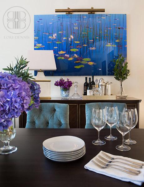 Dining Room Close up Painting 1 WM
