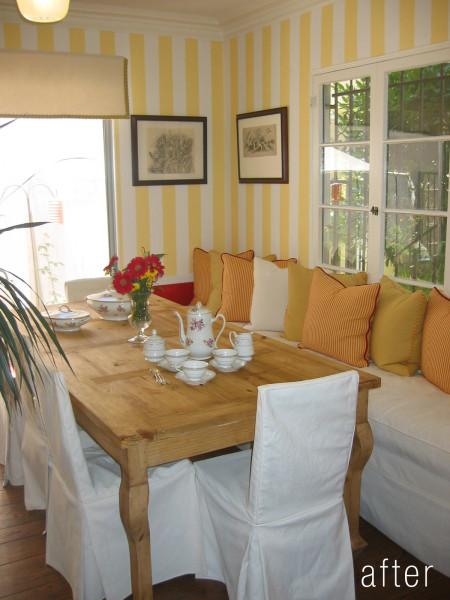 Lori Dennis Dining Room After