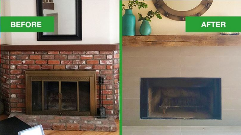 Cast Your Vote: Fireplace Mantel Make-over