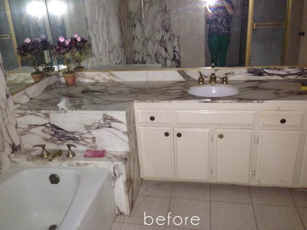 Lori Dennis Interior Design Aging in Place Bathroom Before
