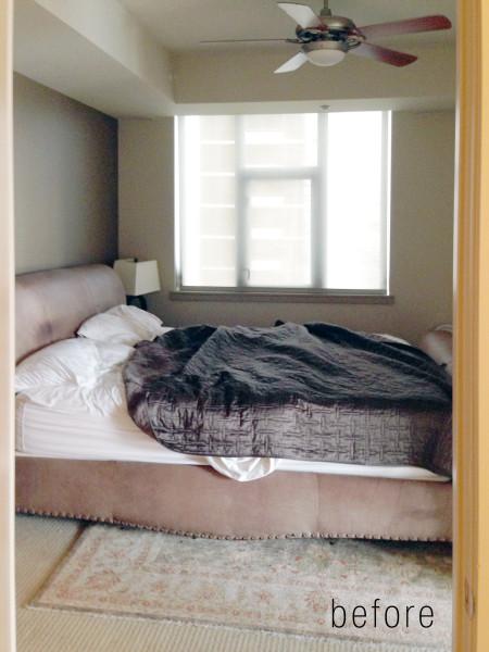 Lori Dennis Interior Design Hong Kong Gent Bedroom Before