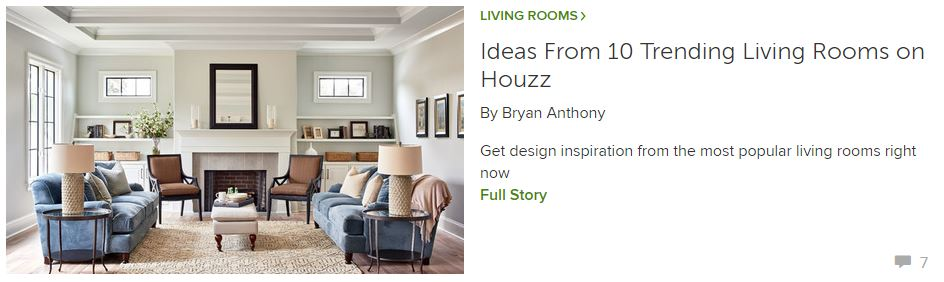 Ideas From 10 Trending Living Rooms on Houzz