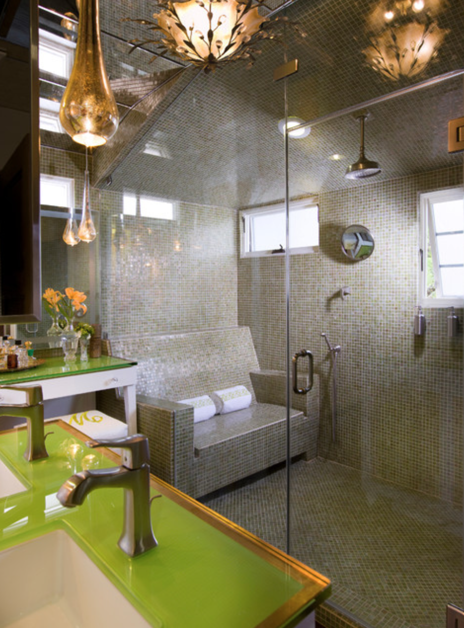 Sparing no expense, what would be in your dream bathroom? Lori Dennis Inc.