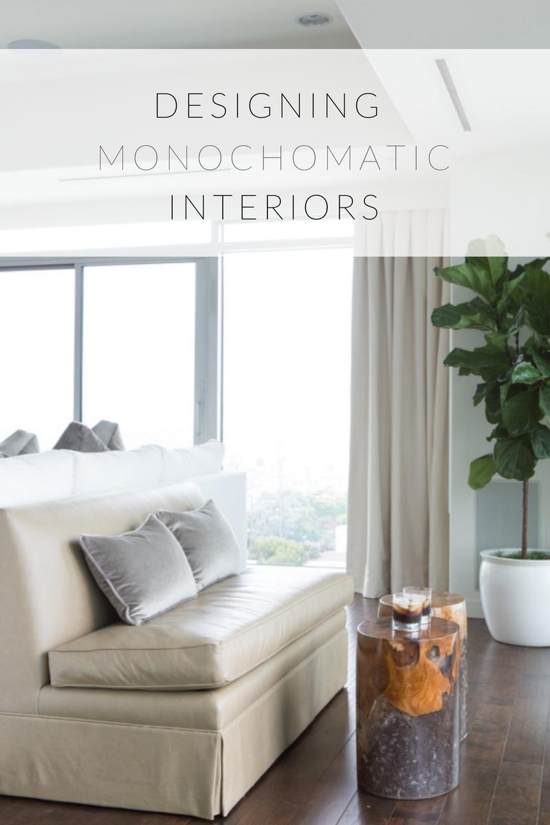 Monochromatic Rooms Infographic