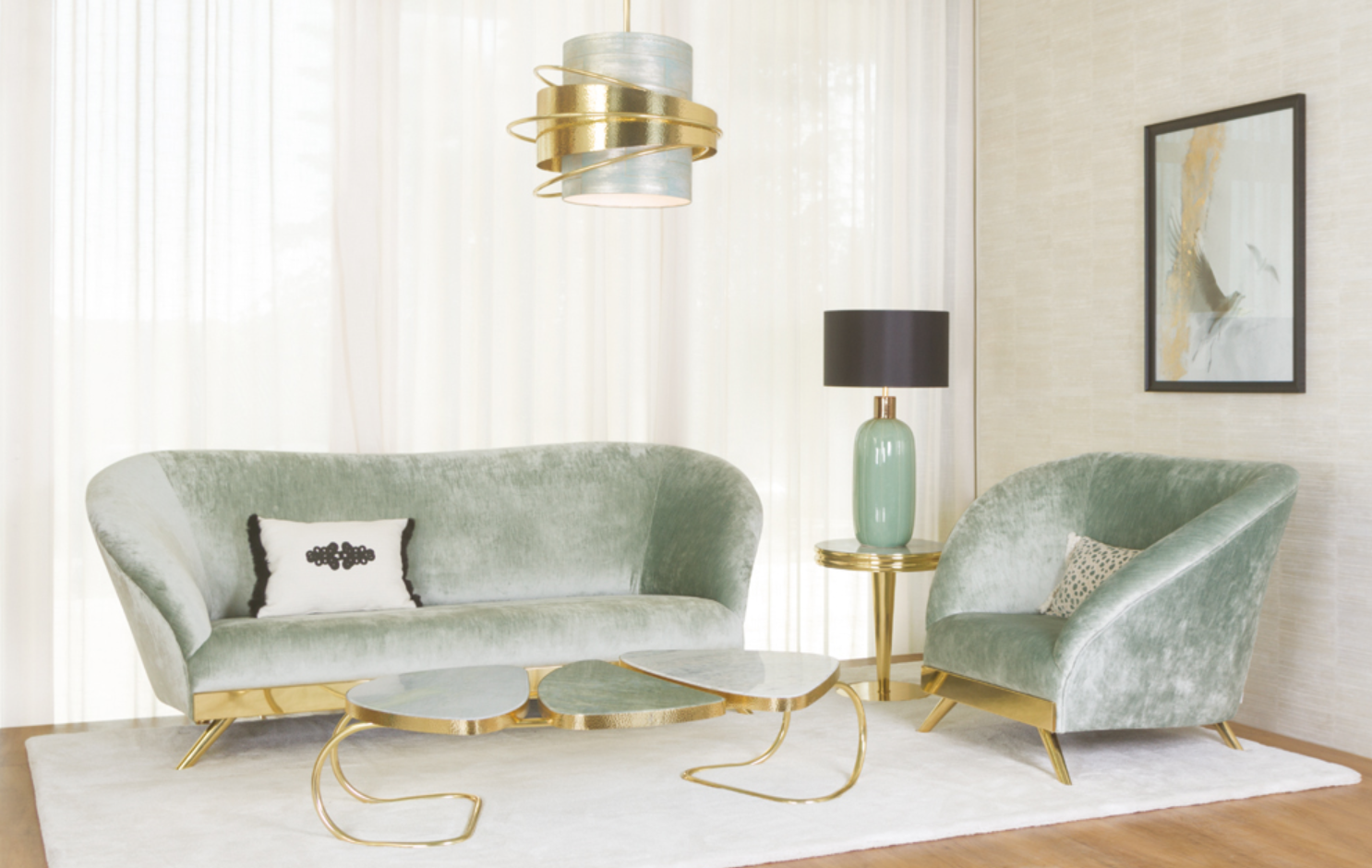 Leaders in elegance and sophistication, Green Apple Home Style is a Portuguese-based company bringing their international style to High Point! What we can expect to see: World-glamour! Gold accents! Modern, luxe designs.