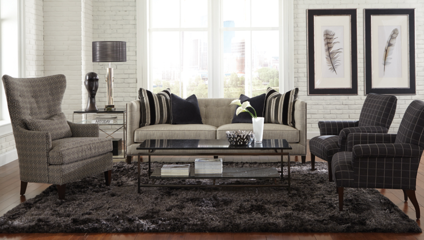 When we think of this North Carolina-based company, visions of plush cushions and sturdy frames come to mind! What we can expect to see: Classic, contemporary furnishings, neutrals, tone on tone color palettes.
