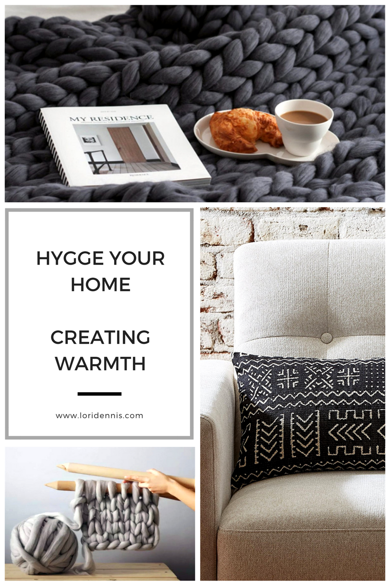 Hygge spaces emphasize warmth, naturalness, and community. Some examples of these hygge moments include bundling up on the couch by the fire with a cup of tea, enjoying a hot bath surrounded by candles, or gathering with friends for a home cooked meal. One of the most important aspects of adding hygge to your home is the presence of candles.