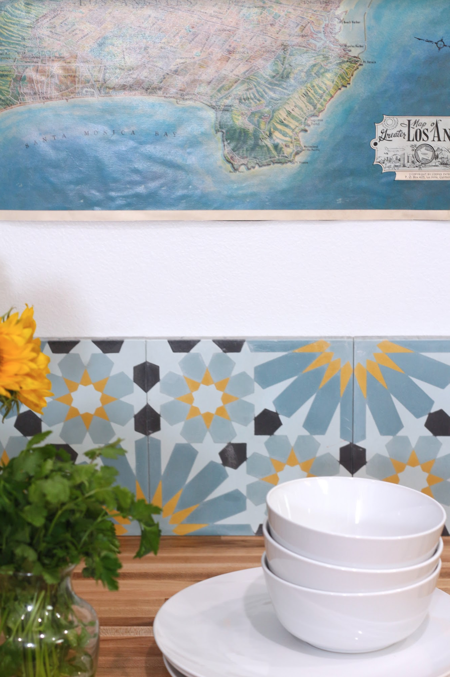 Backsplash Tile: Villa Lagoon