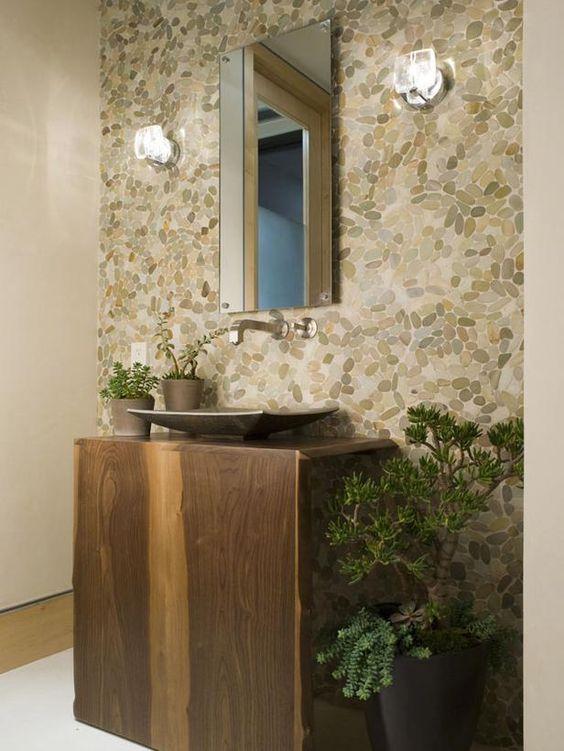 Zen Bathroom by Lori Dennis