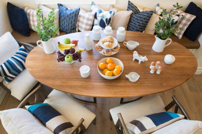 Spring Tablescape | Window Seat Kitchen Nook