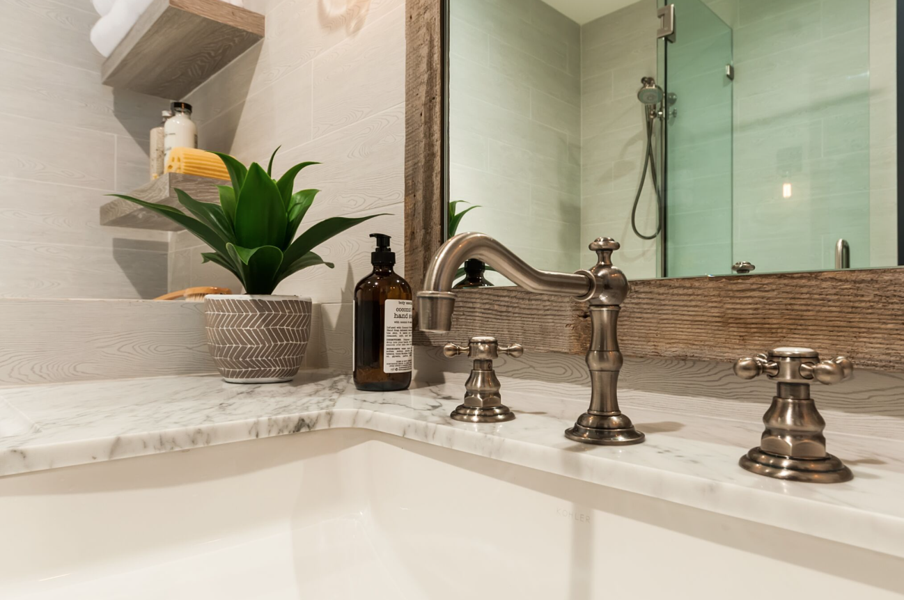 We're big believers in healthy, sustainable living and are always on the prowl for new, luxurious bath products that fulfill these requirements and look good on a countertop.