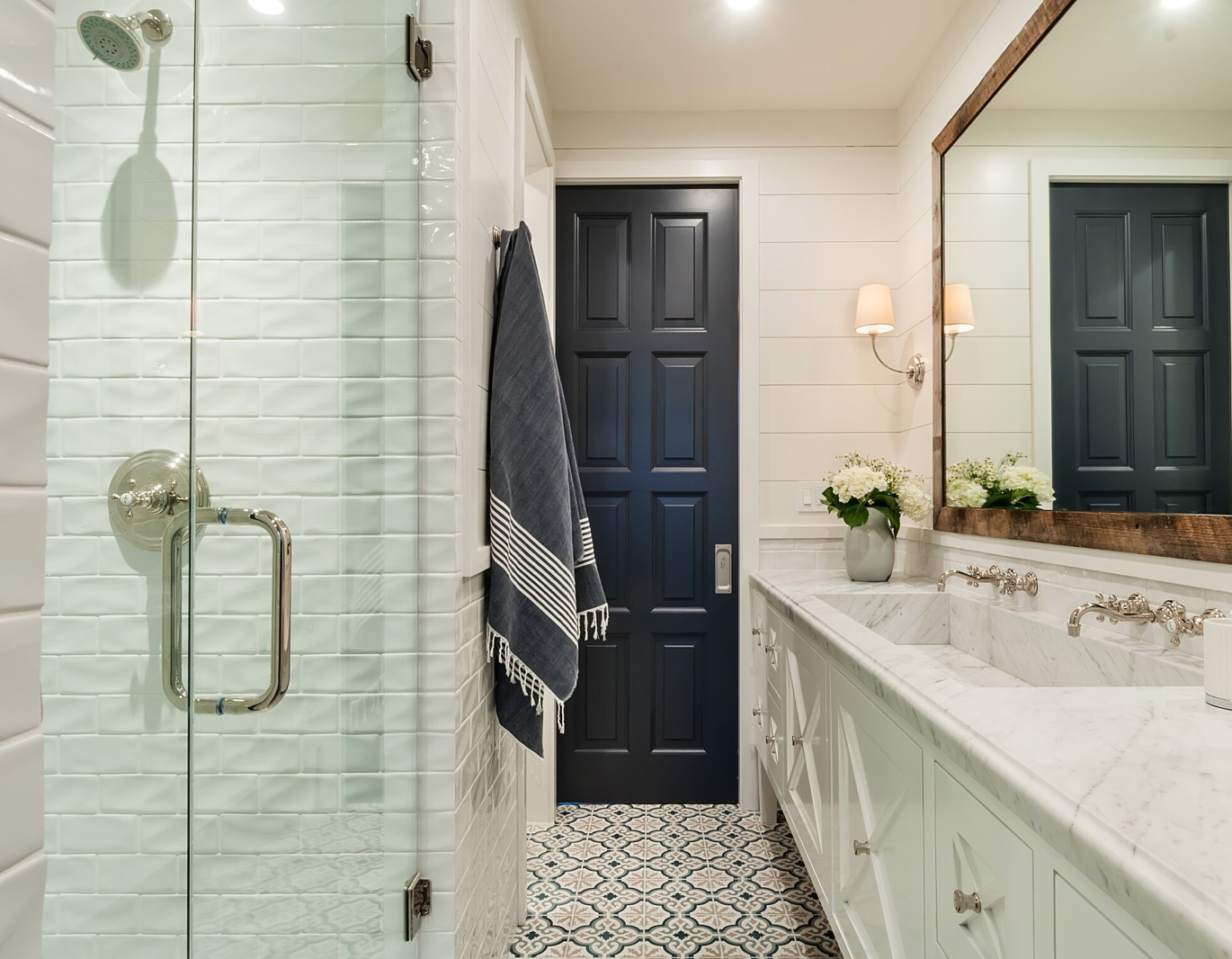 If you've been reading the Lori Dennis Green Blog for very long, you know we're suckers for a ceramic tile that makes a statement! They're durable, stylish, and perfect for the flooring or backsplash of your modern coastal farmhouse.
