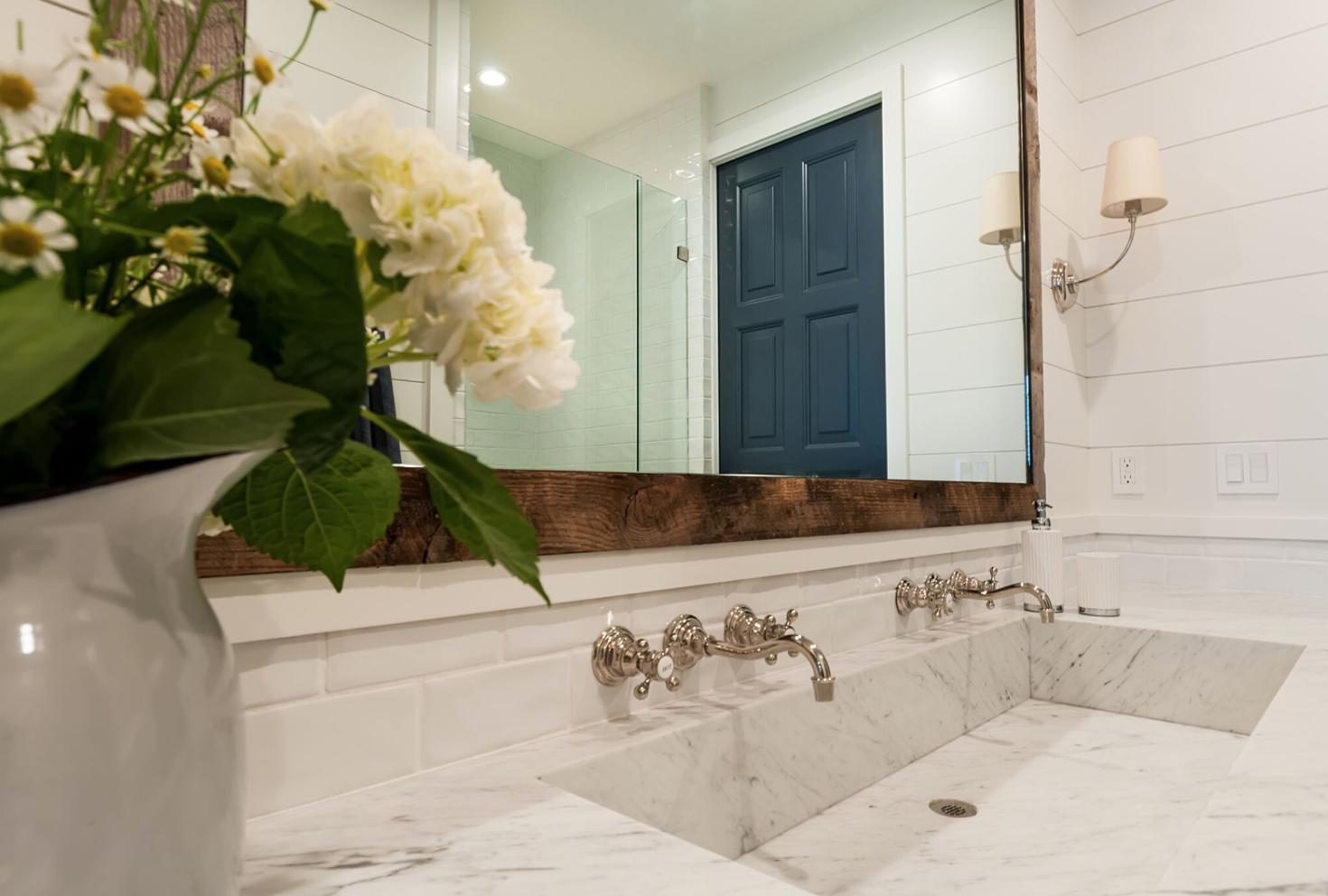 Get The Look: Coastal Farmhouse Bathroom