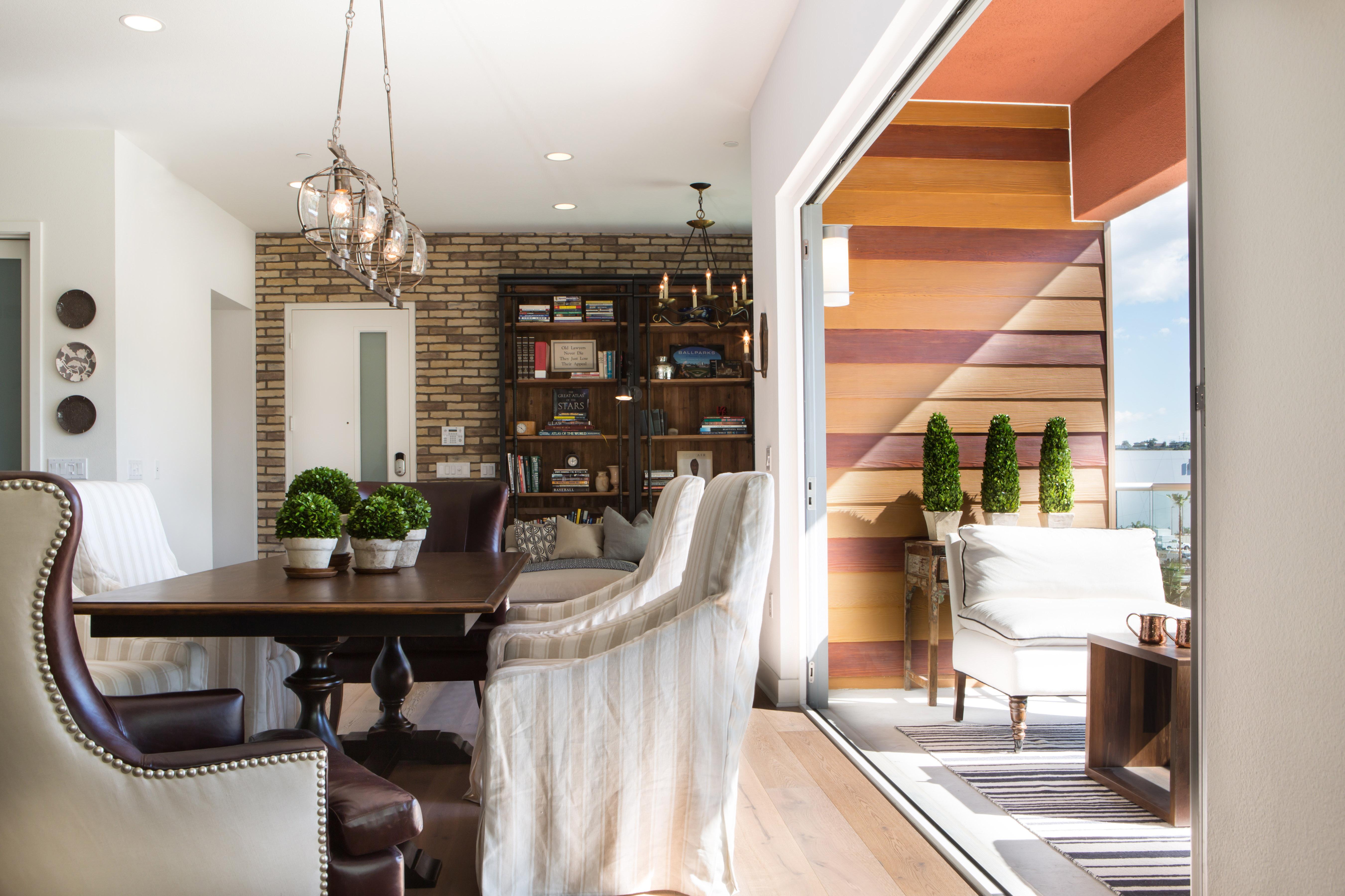 Indoor Outdoor Modern Farmhouse Dining Room