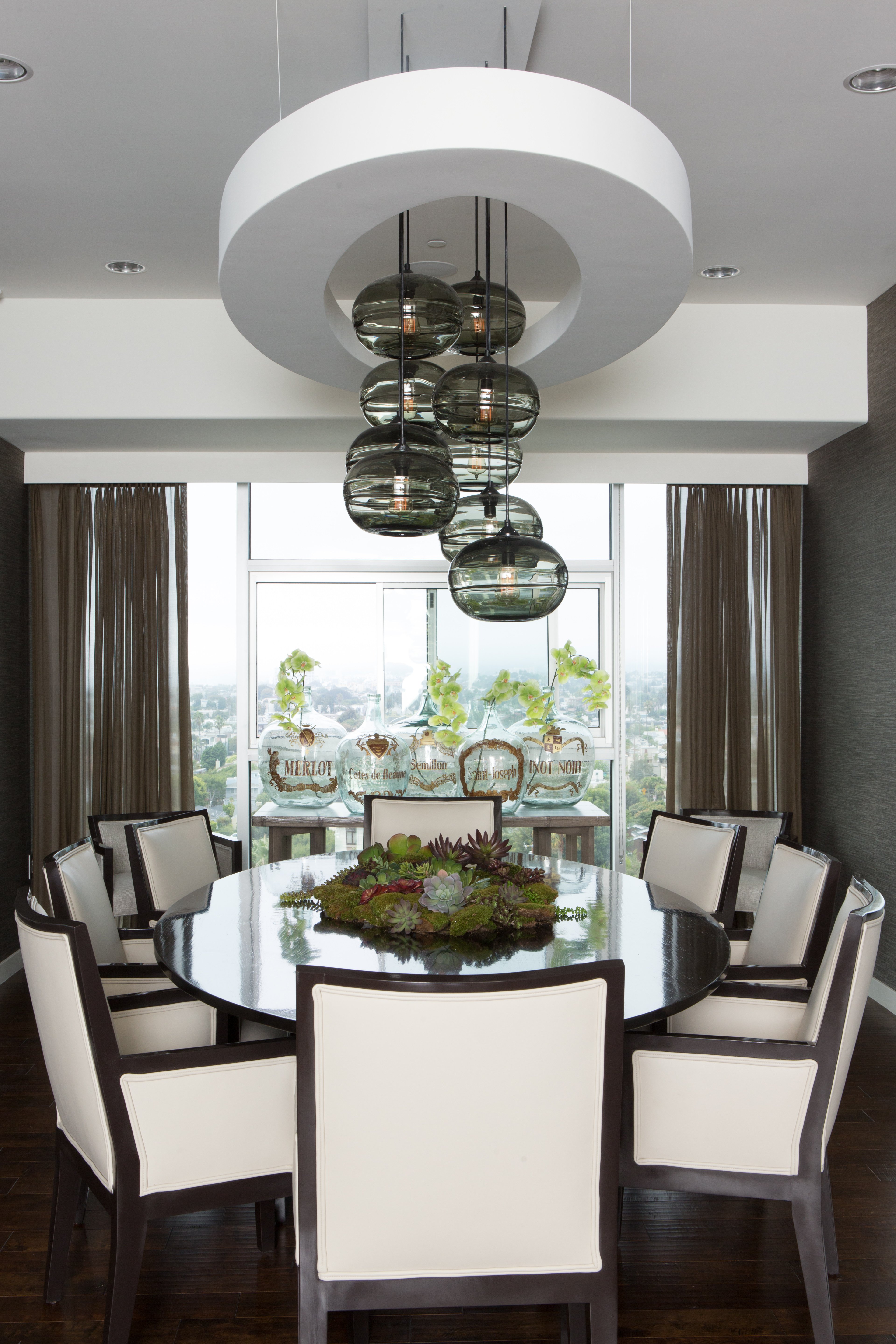 Modern dining room lighting idea chandelier