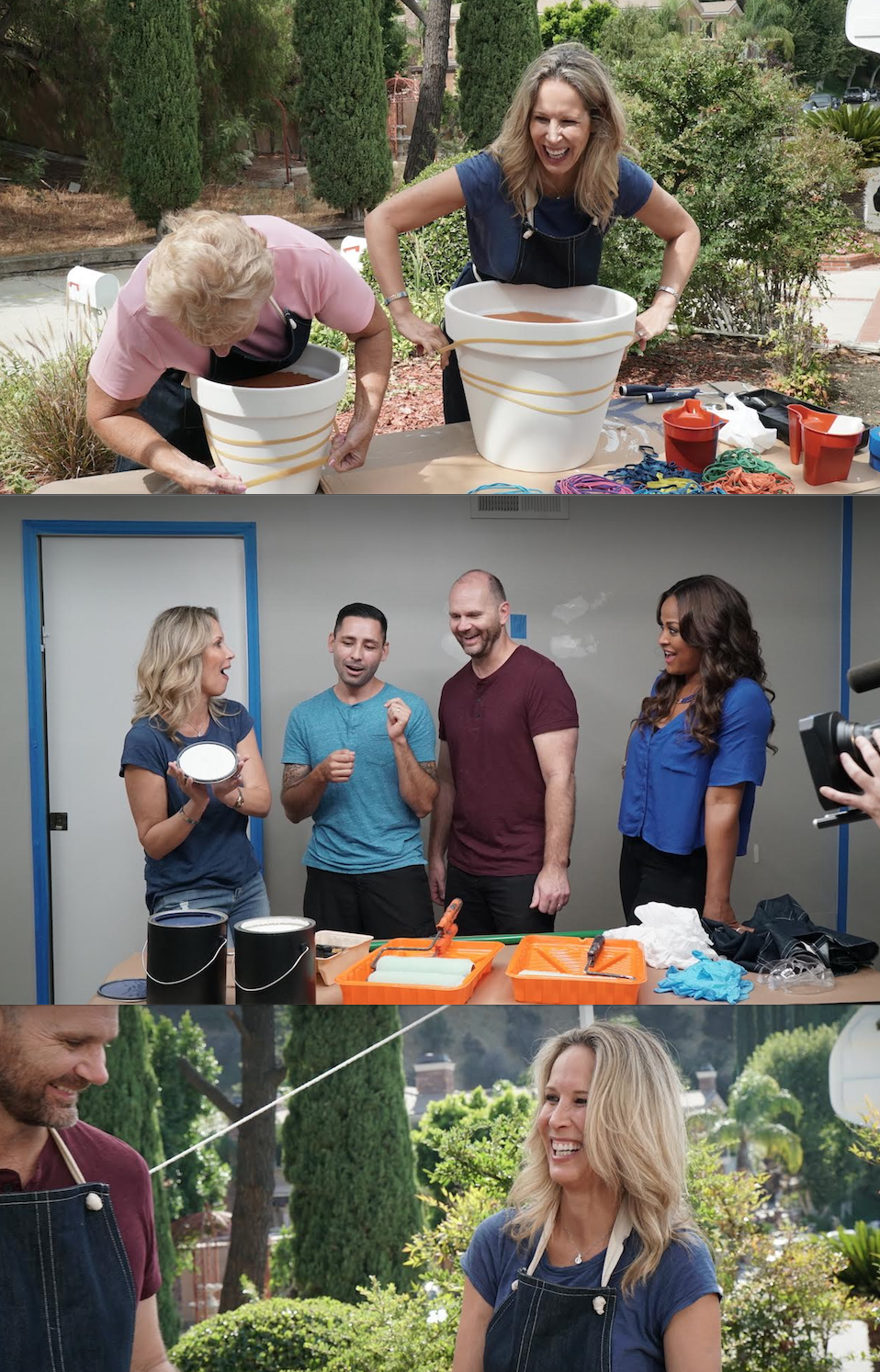 Behind the Scenes of Home Made Simple with Laila Ali, Lori Dennis, Johnathan Brewer