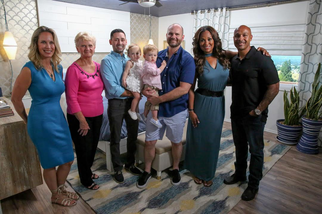 Laila Ali truly leads an A-Team! (For a show on Oprah's network, would you really expect any less?) In addition to everyone working together wonderfully, we all had such a blast making over the home of such a deserving family.