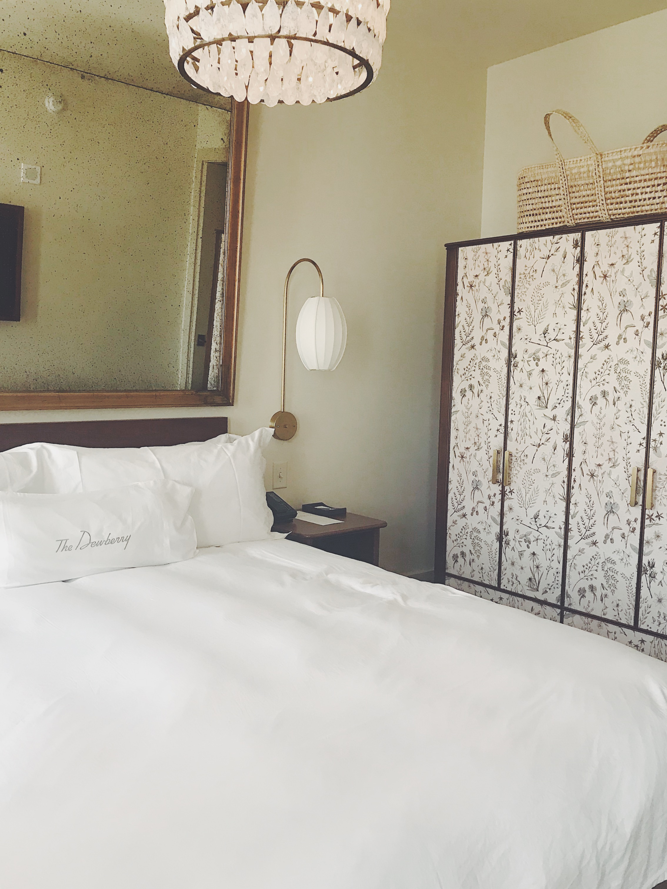 dewberry hotel room