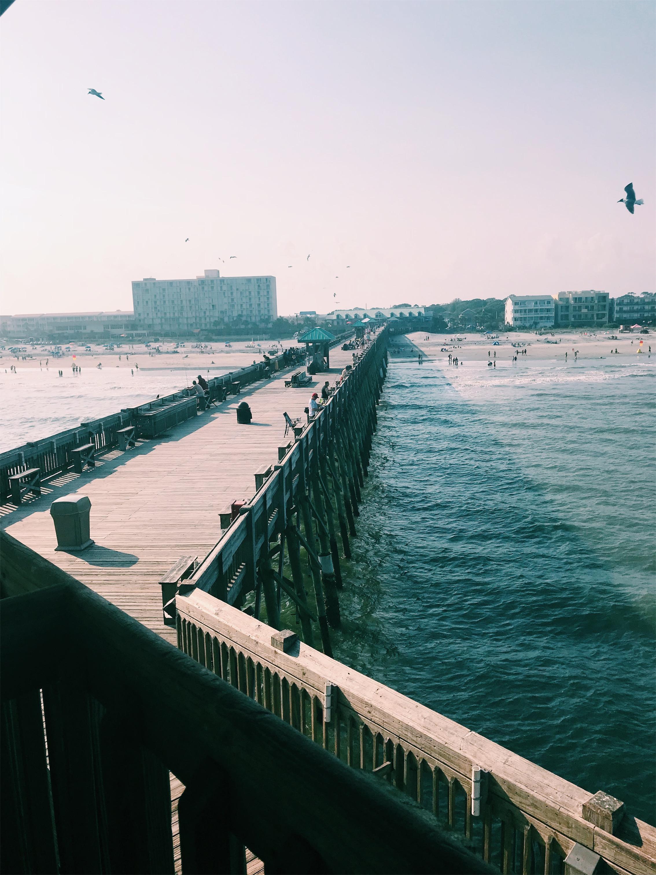 Folly Beach Pier View