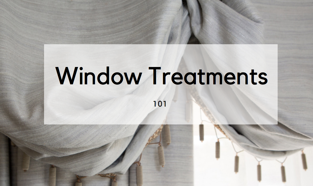 Everything You Need to Know About Window Treatments in Partnership With Heritage Draperies