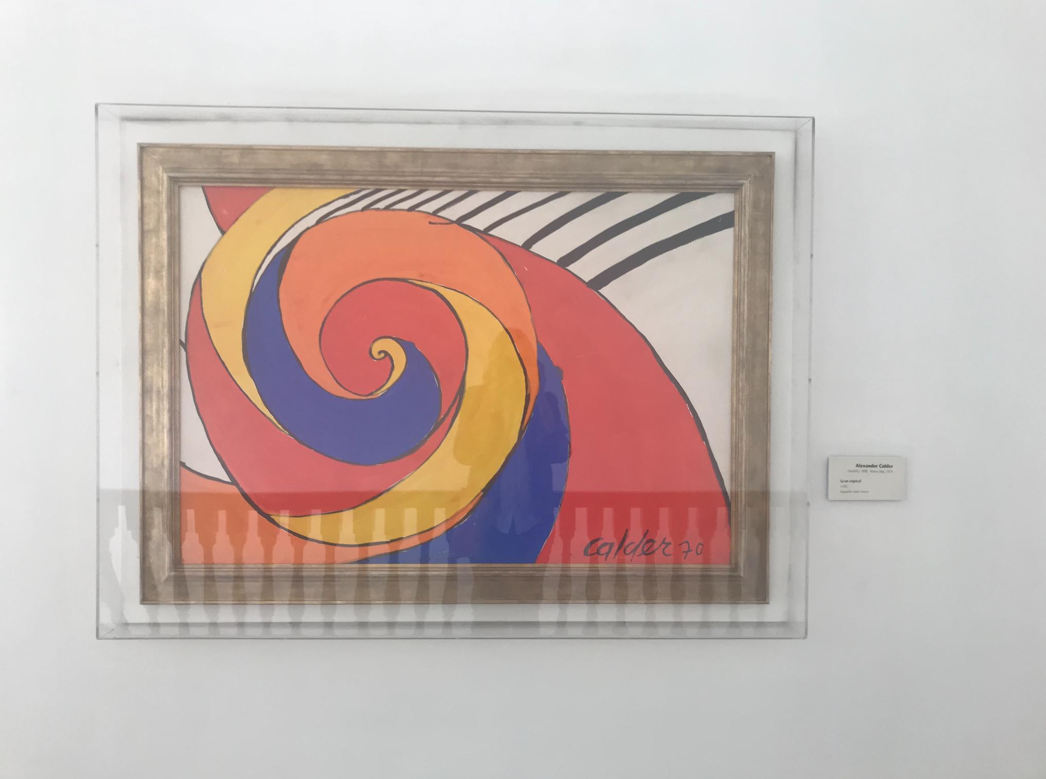 Calder in El Museo de Botero