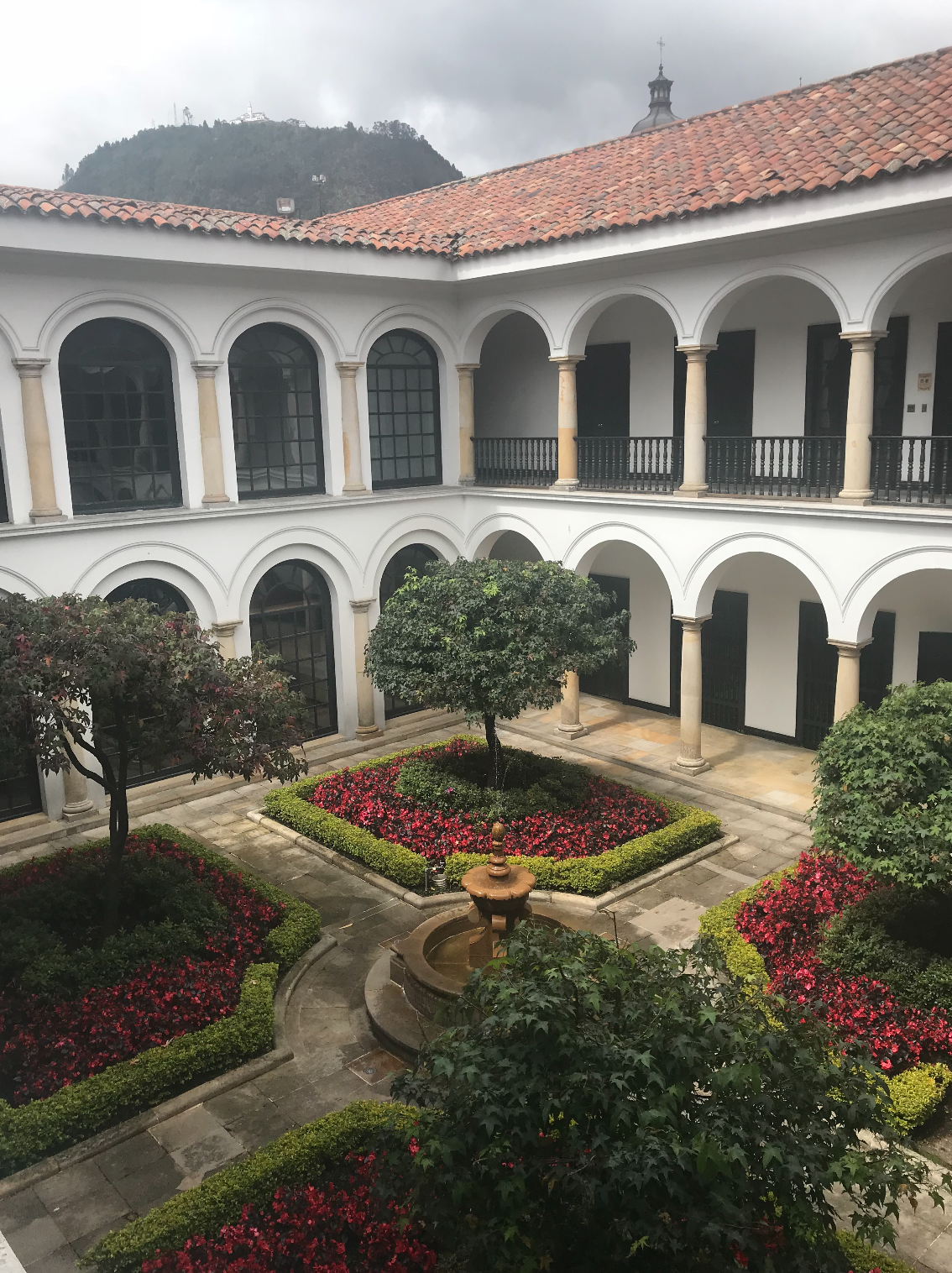 Museo de Botero courtyard best of colombia's museum exhibits