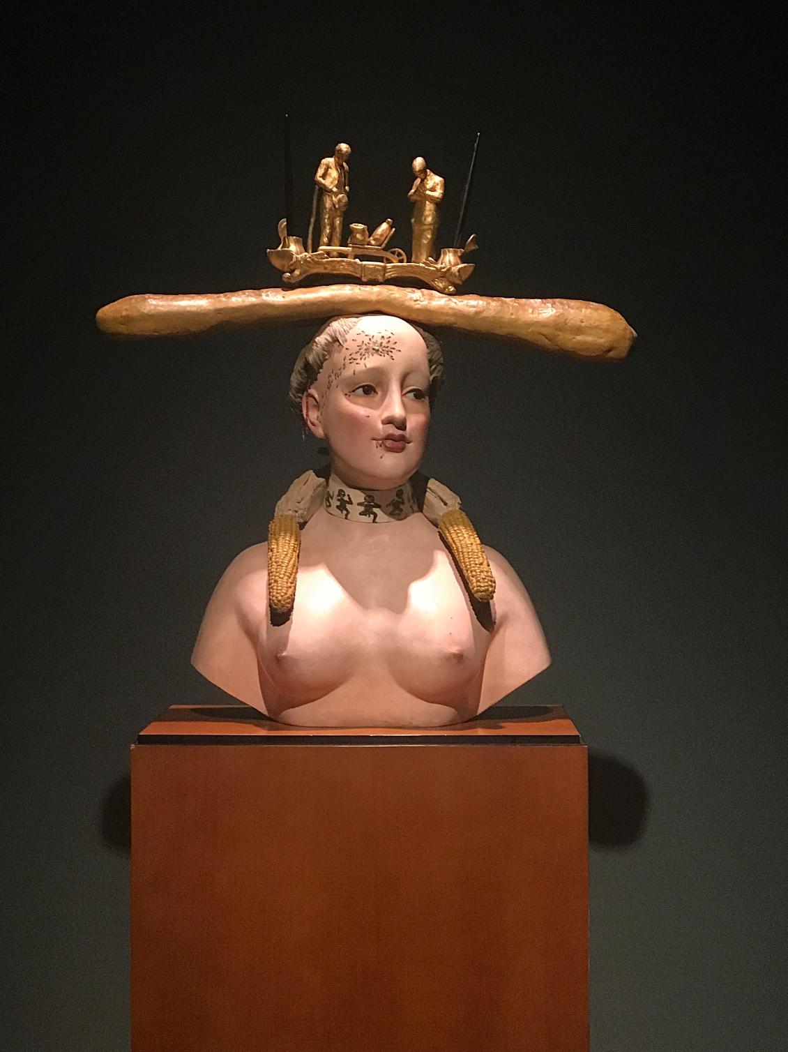 dali sculpture - museo de botero