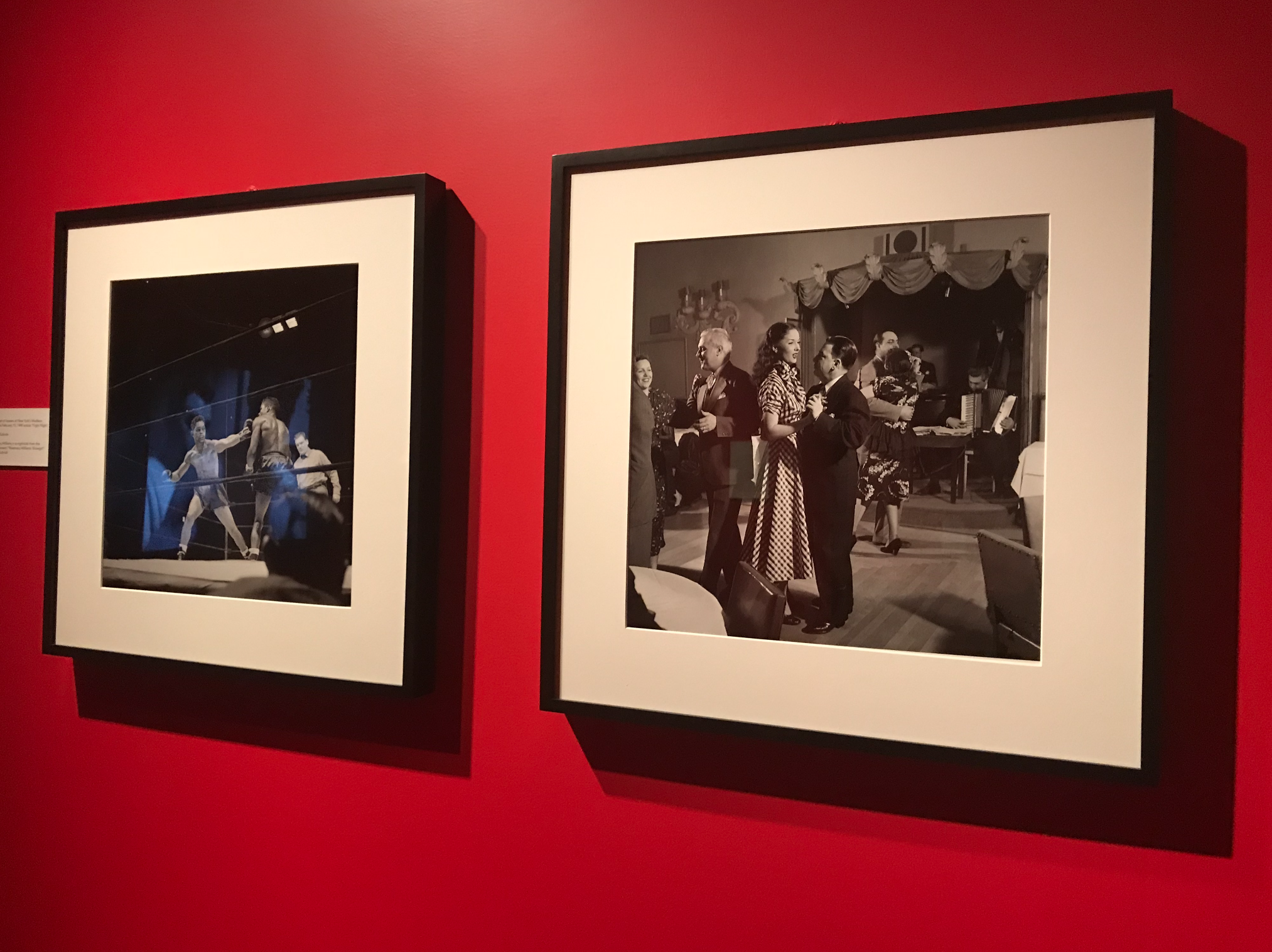 kubrick photographs as shown at the city museum of new yorl