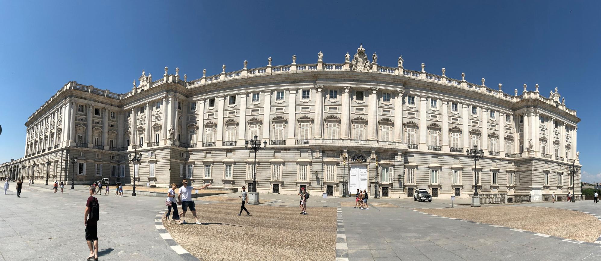 Prado Museum Panorama Photo