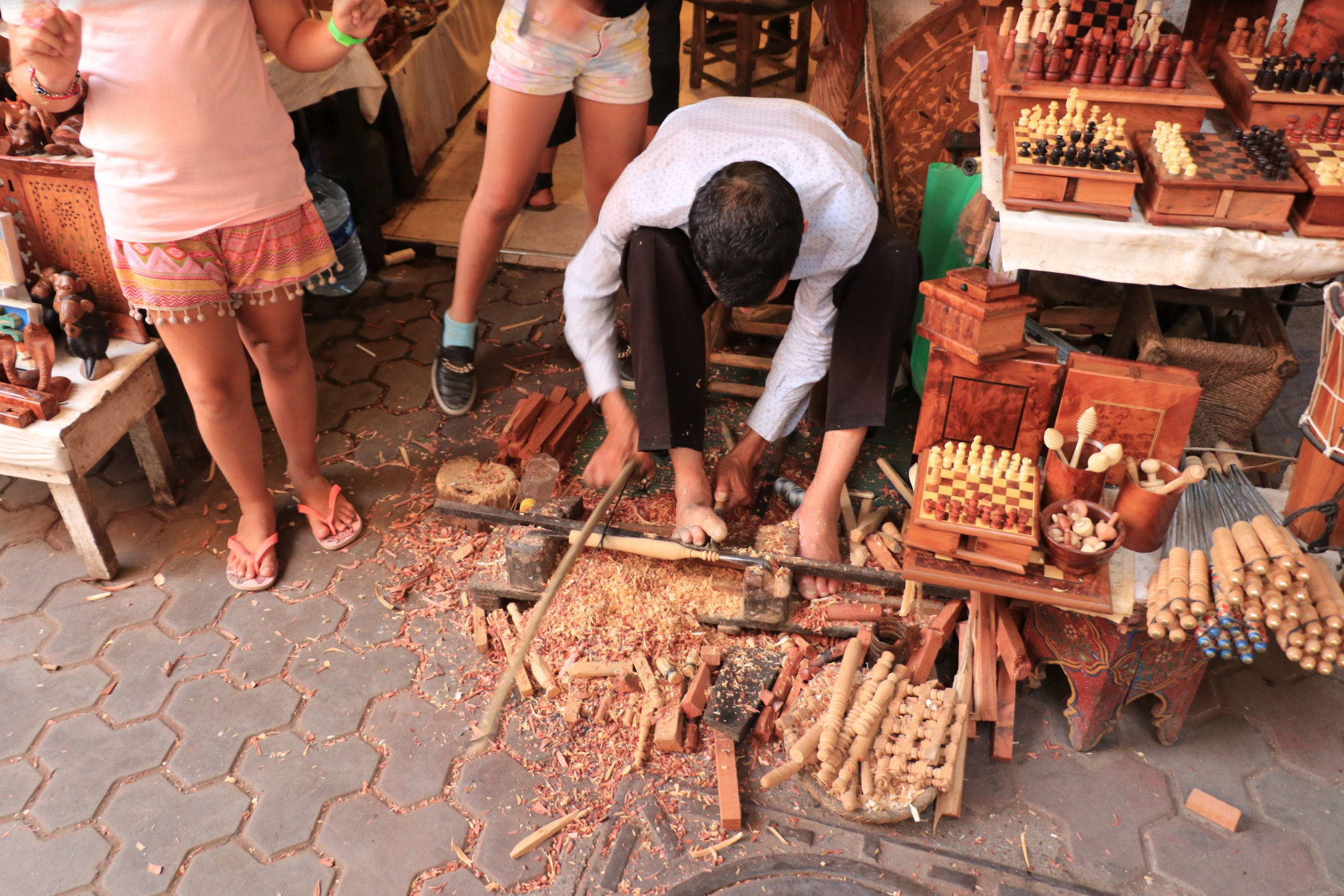 how to barter in the moroccan Medina