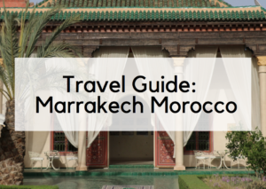 Travel Guide: A Day in the Marrakech Medina