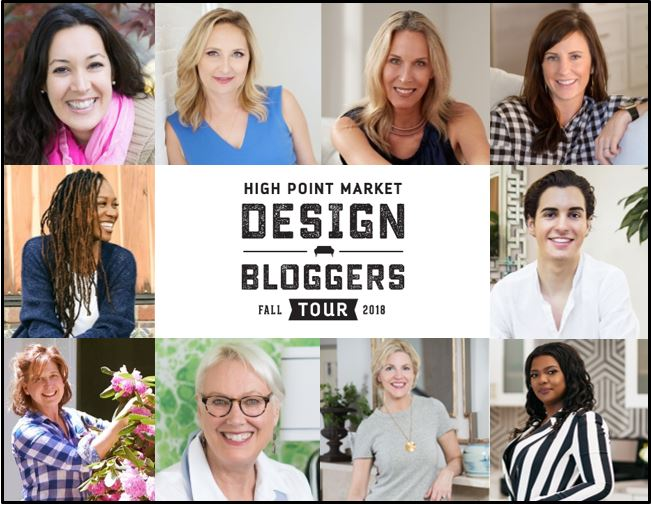 Meet the Design Influencers Taking Over Fall High Point Market 2018 on the Design Bloggers Tour