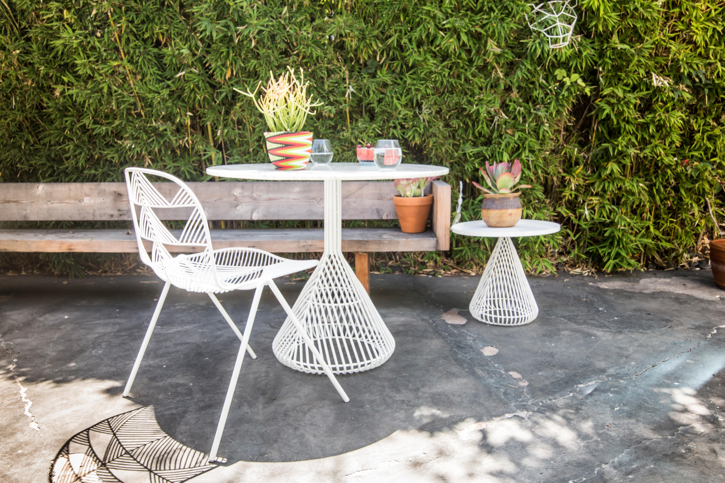 You know I love some good outdoor furniture! How cute are these funky pieces from Bend Goods?