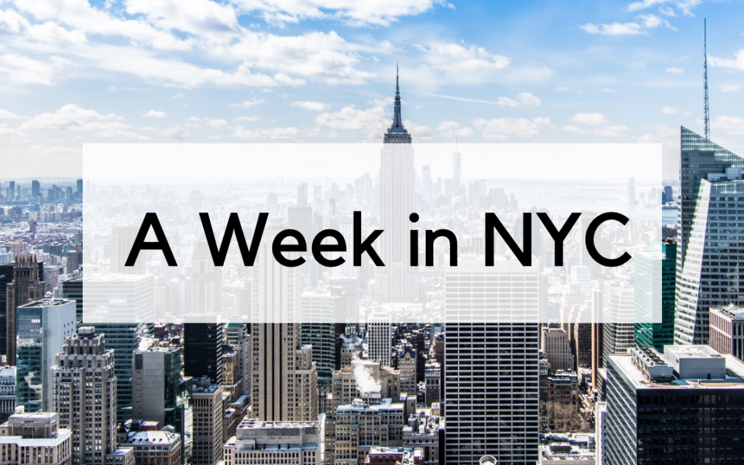A Week in NYC with Lori Dennis