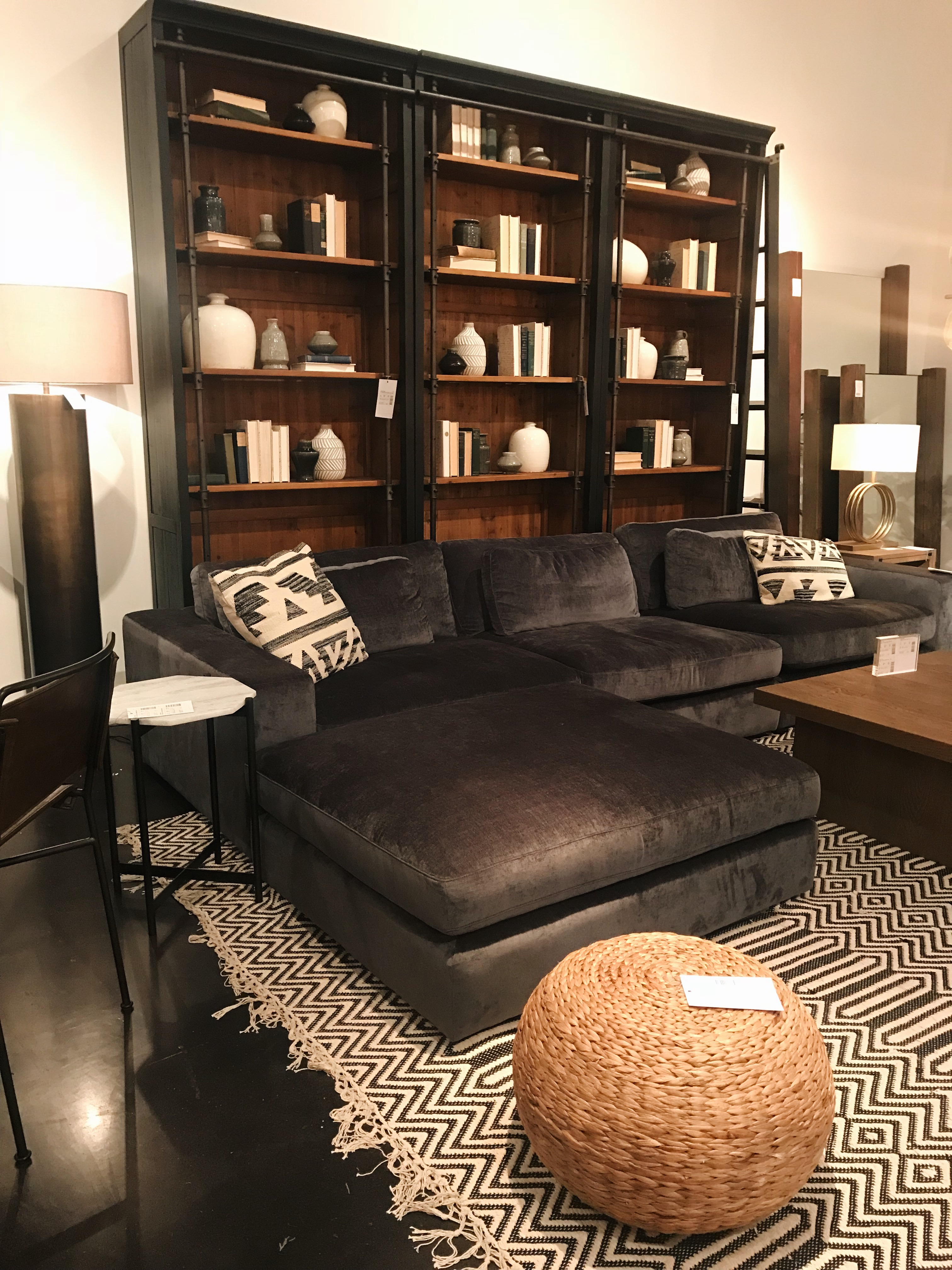 tone on tone trend from four hands furniture at high point market