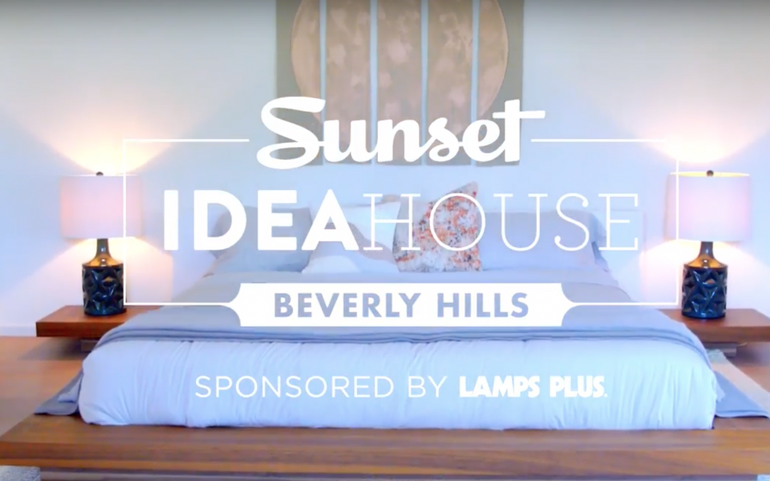 5 Lighting Trends to Copy from the Sunset Idea House in Beverly Hills