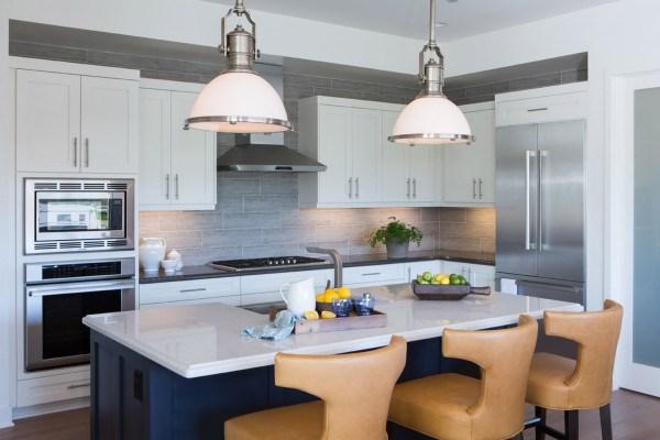 modern farmhouse kitchen white counter tops