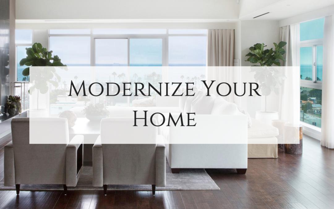 10 Design Tips to Modernize Your Home